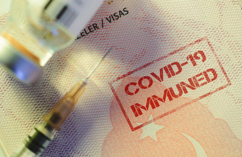 Ultimando el Pasaporte de vacunación